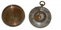 CIVIL WAR COMPASS IDENTIFIED TO CAPTAIN GEORGE S. CLARK, 15TH PENNSYLVANIA CAVALRY