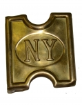 U.S. MODEL 1887 MILLS BUCKLE FOR NEW YORK TROOPS