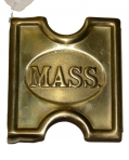U.S. MODEL 1887 MILLS BUCKLE FOR MASSACHUSETTS TROOPS