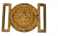 HIGH GRADE NAVAL OFFICER'S BELT PLATE, 1850s