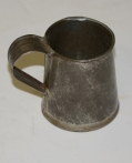 SMALL TIN DRINKING CUP