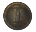 "CONFEDERATE INFANTRY ""I"" BUTTON RECOVERED AT THE HISTORIC ROSE FARM AT GETTYSBURG"
