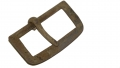 US BUFF LEATHER CAVALRY BELT ADJUSTER BUCKLE FOUND AT THE EAST CAVALRY BATTLEFIELD AT GETTYSBURG