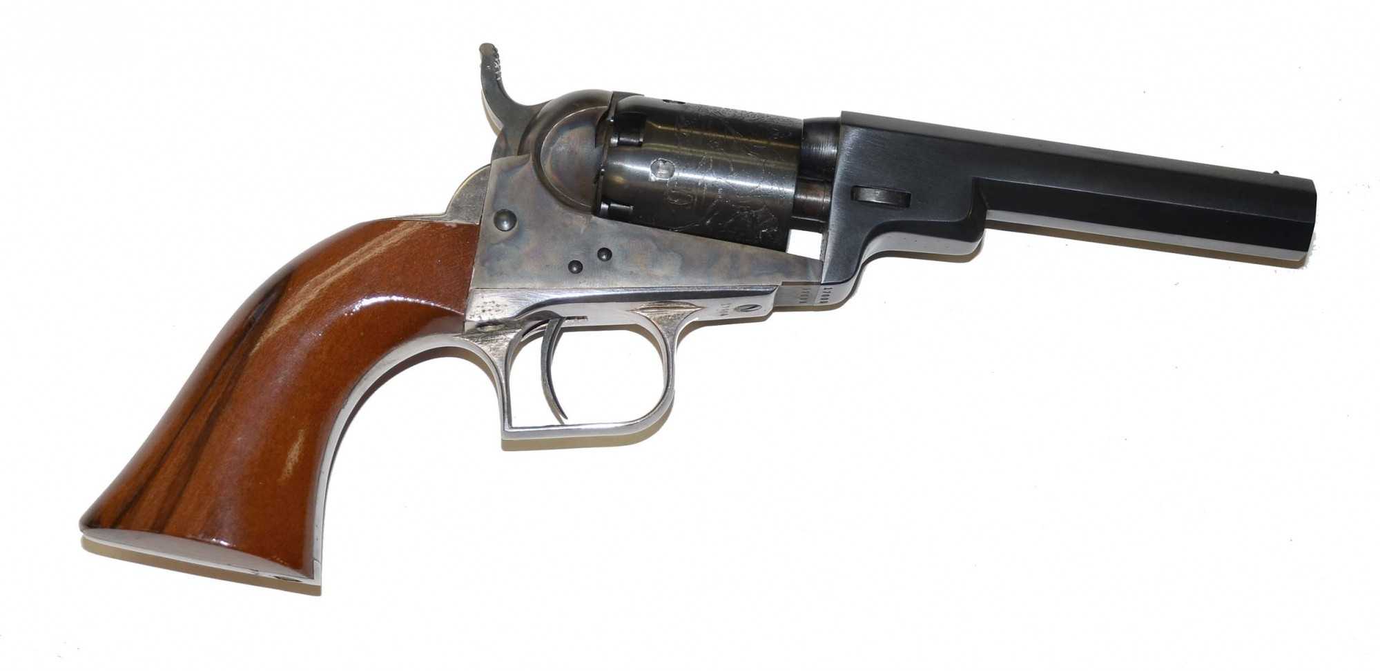 MINT CONDITION REPRODUCTION OF THE COLT BABY DRAGOON REVOLVER WITH THE ORIGINAL BOX