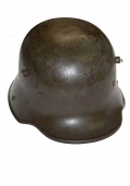 MODEL 1916 WORLD WAR ONE GERMAN HELMET WITH LINER