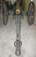 VERY RARE CONFEDERATE MANUFACTURED BRONZE 12 POUNDER FIELD HOWITZER PRODUCED BY JOHN CLARK AND COMPANY OF NEW ORLEANS, LA