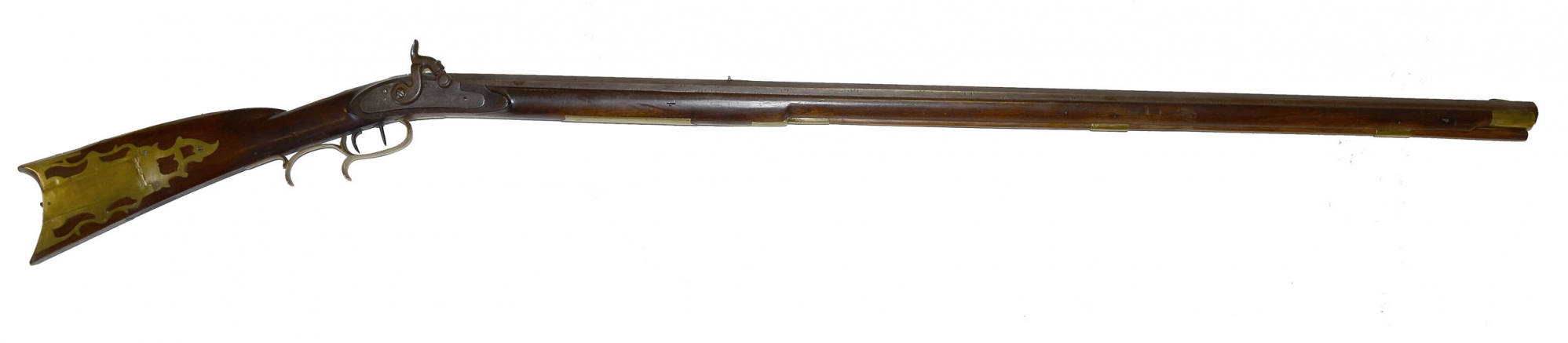 MAKER MARKED FULL STOCK LONG RIFLE