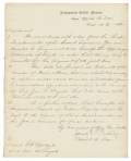 1862 DOCUMENT SIGNED BY BVT. BRIG. GEN. JAMES F. RUSLING