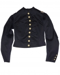 CIVIL WAR UNION OFFICER'S SHELL JACKET, VEST, BELT, SASH AND CDVs IDENTIFIED TO CAPTAIN FREDERICK SEARS GRAND d'HAUTEVILLE
