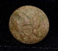 US ENLISTEDMAN'S GENERAL SERVICE EAGLE BUTTON FOUND AT THE HISTORIC ROSE FARM AT GETTYSBURG