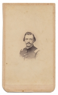 CDV OF JAMES S. ABELL, 6TH OHIO CAVALRY