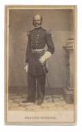 CDV OF MAJOR GENERAL AMBROSE E. BURNSIDE