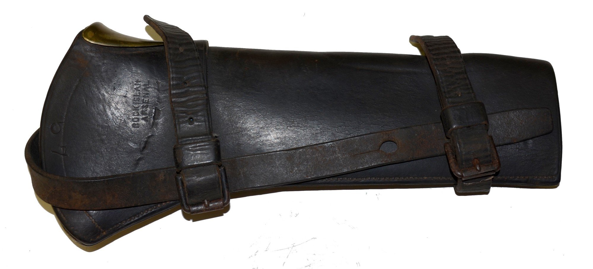 US M1885 CAVALRY CARBINE BOOT - ROCK ISLAND ARSENAL — Horse