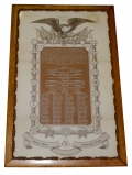 SOLDIER'S MEMORIAL FOR MEMBER OF THE ANDERSON TROOP OF CAVALRY