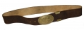 UNISSUED US BUCKLE AND BUFF BELT