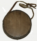 CONFEDERATE WOOD DRUM CANTEEN WITH STRAP