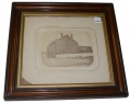 FRAMED ALBUMEN OF CASTLE THUNDER