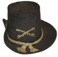 "MODEL 1858 ARMY DRESS OR ""HARDEE"" HAT WITH CAVALRY INSIGNIA"