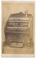 CDV OF BEATTY PARLOR ORGAN