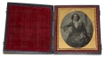 SIXTH PLATE DAGUERREOTYPE OF LADY