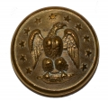 CONFEDERATE OFFICER'S COAT BUTTON