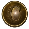 CONFEDERATE CAVALRY BUTTON