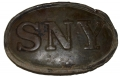 "RELIC STATE OF NEW YORK ""SNY"" BELT PLATE FROM SHILOH"