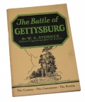 VINTAGE GETTYSBURG TOUR BOOK – THE BATTLE OF GETTYSBURG BY W.C. STORRICK, SIGNED BY AUTHOR