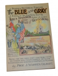 VINTAGE GETTYSBURG TOUR BOOK – THE BLUE AND GRAY
