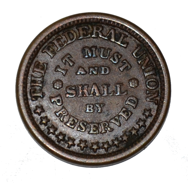 CIVIL WAR ARMY AND NAVY TOKEN