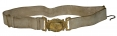 1840'S MILITIA OFFICER'S BELT AND BUCKLE