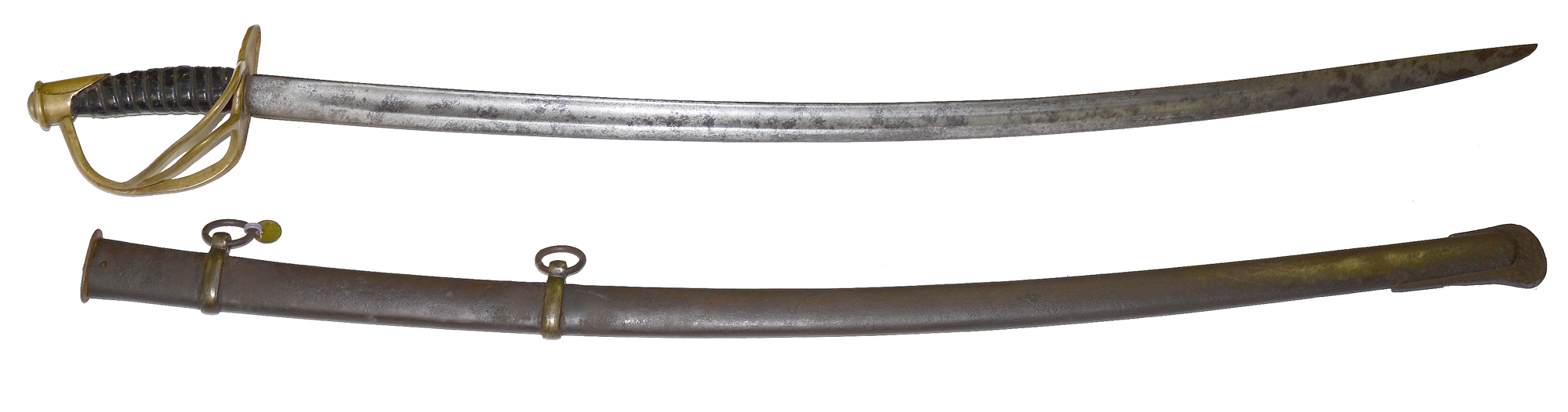 NICE EXAMPLE OF AN ORIGINAL UNMARKED CONFEDERATE CAVALRY SABER