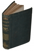 "NICE CLEAN 1864 COPY OF ""HOYLE'S GAMES"""