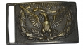CIVIL WAR REGULATION MODEL 1851 PATTERN U.S. OFFICER'S RECTANGULAR SWORD BELT PLATE