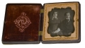 SIXTH PLATE DAGUERREOTYPE OF FAMILY MEMBERS