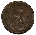 US EAGLE BREAST PLATE WITH INITIALS ON REVERSE