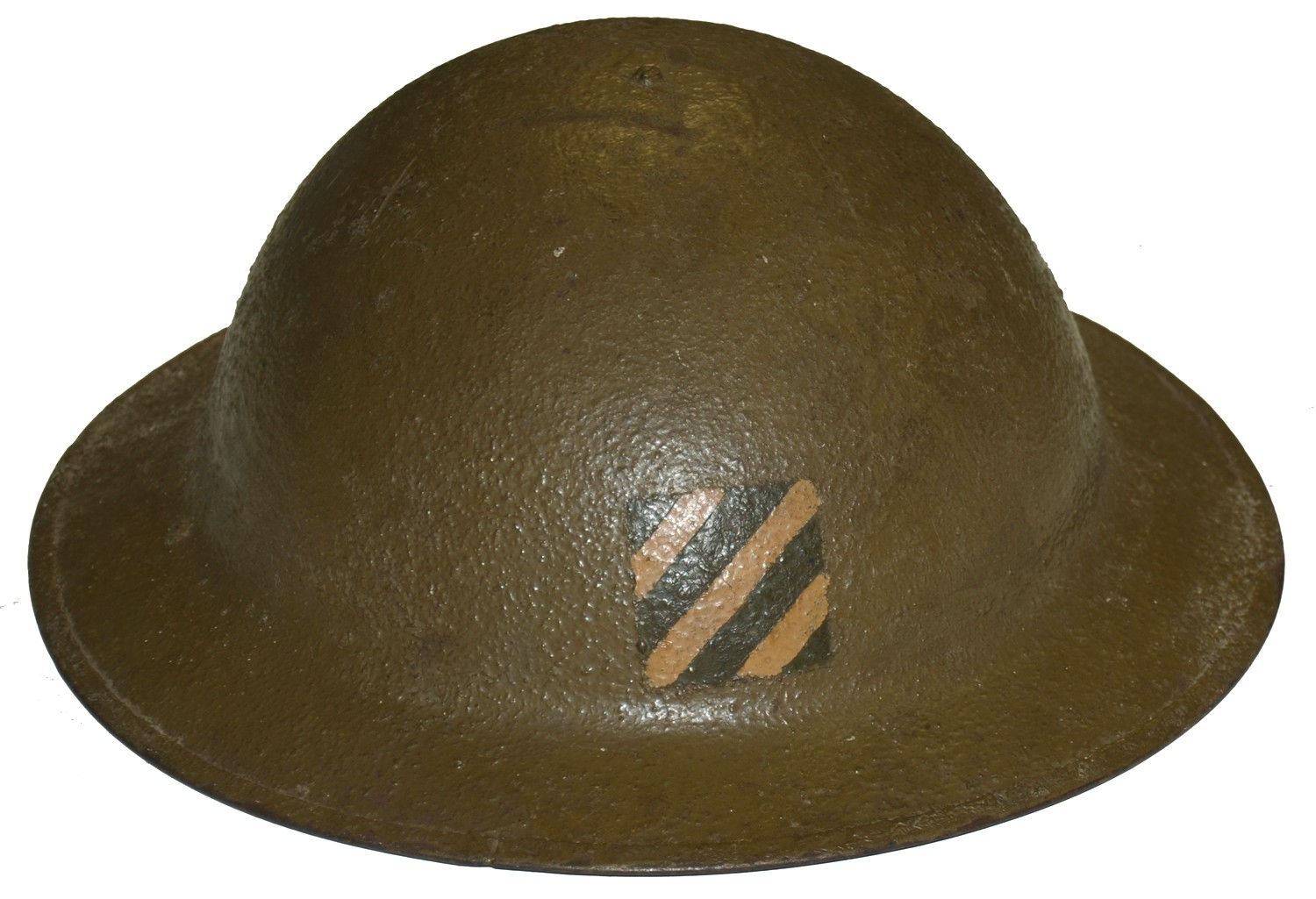 3RD INFANTRY DIVISION WORLD WAR ONE HELMET