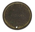 DUG CIVIL WAR ID DISK FOR 12TH PENNSYLVANIA RESERVES (41st PENNSYLVANIA) SOLDIER