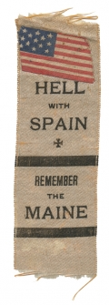 """REMEMBER THE MAINE"" RIBBON"