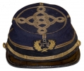 FANTASTIC NEW YORK CHASSEUR STYLE KEPI WITH OFFICER'S EMBROIDERED DEVICE