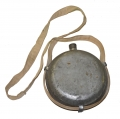 CONFEDERATE TIN DRUM CANTEEN WITH EARLY REPRODUCTION SLING