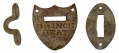 SADDLE SHIELD FROM GETTYSBURG