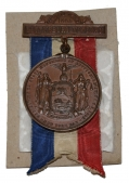 NEW YORK GETTYSBURG VETERAN'S MEDAL ID'D TO A PRIVATE IN THE 147TH NEW YORK