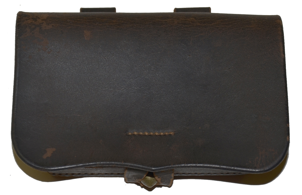 CIVIL WAR PISTOL CARTRIDGE BOX