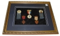 FRAMED G.A.R. MEDALS – PHIL KEARNEY POST NO. 1 & 7, NEW JERSEY