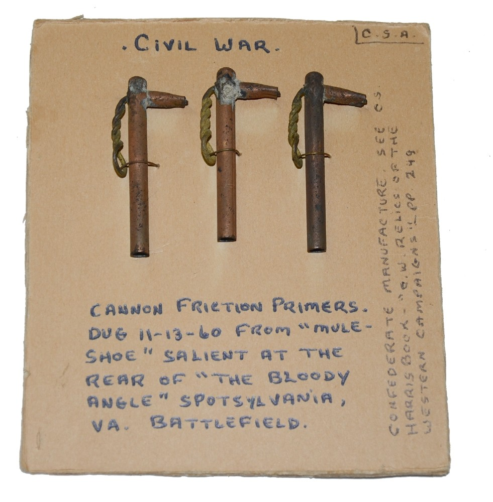 C.S. FRICTION PRIMER RECOVERED FROM SPOTSYLVANIA