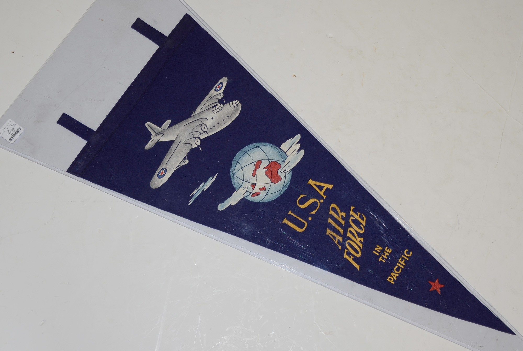 FULL COLOR WORLD WAR TWO ARMY AIR FORCE PENNANT