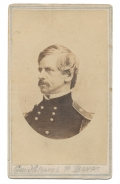 CDV OF GENERAL NATHANIEL BANKS