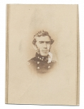 CDV LITHOGRAPH OF CONFEDERATE GENERAL BRAXTON BRAGG