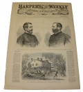 HARPER'S WEEKLY, NEW YORK, JULY 19, 1862 – PENINSULA CAMPAIGN